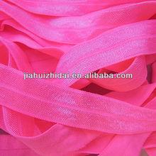 5/8'' width colorful fold over elastic,foe elastics