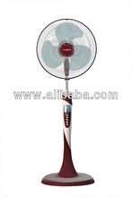 Pedestal Fan - Safe, adjustable, easy to clean, and remote-controlled