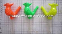 plastic bird whistle toy for children