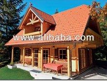 wooden house ZALA