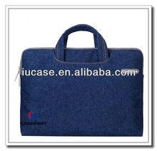 hot sell neopren laptop case, fashion neoprene laptop sleeve, 13.3 inch Jean neopren laptop bag