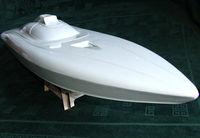 RC boat hull FSR- O - 26 FALCON