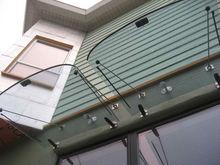 2014 foshan curtain wall expert,talaxy professional glass canopy