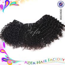 Super quality real virgin 5a brazilian hair fashion source hair