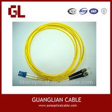 SC/FC/ST/MU/MTRJ Duplex/Simplex Fiber Optic Patch Cord Cable Made In China