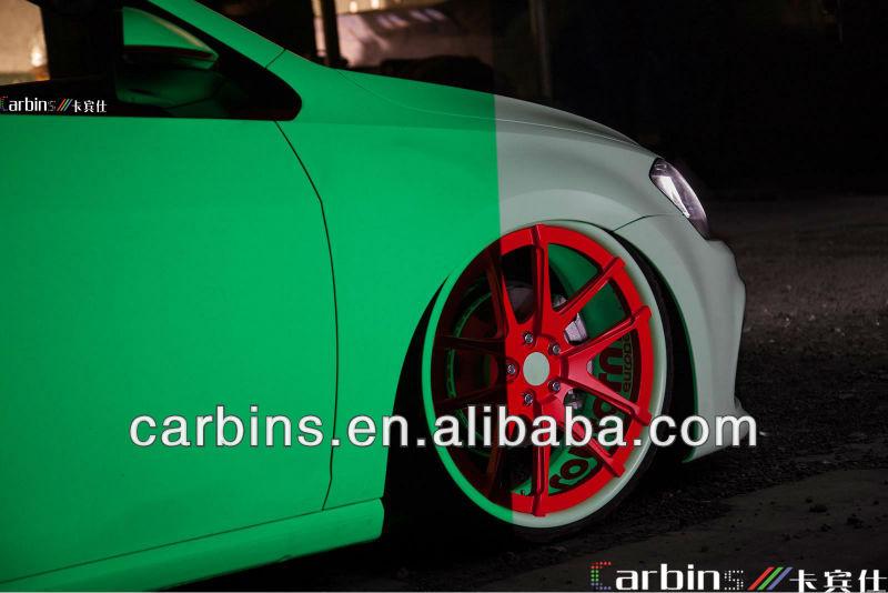 Luminous car wrapping vinyl roll glow in the dark!