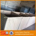 Fábrica de galvanizado soldado plaza caja de gaviones, hesco bastión del proyecto