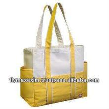 2011 New fashion design canvas handbag
