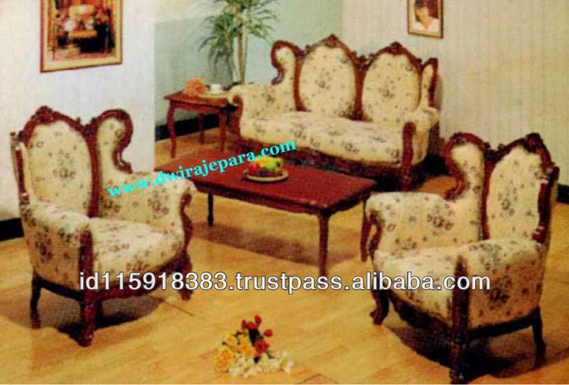 Juego de sala de indonesia muebles de teca sof conjunto - Muebles de teca ...