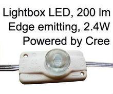 led light strip modules led for box signs ul 2.4W Edge emitting,60mm, Cree