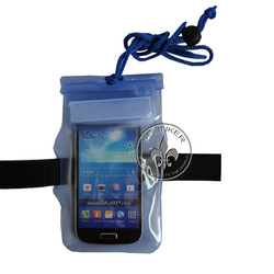 Best 2 Zippers With Drawtring Armband Bags Waterproof Bag Holder For Iphone 5 P5526-55