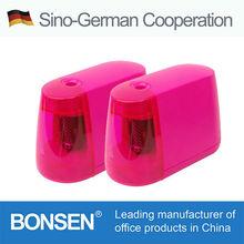Pink electric pencil sharpener P100-A