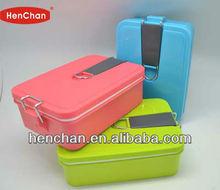 colorful design airtight lunch box dishwasher safe