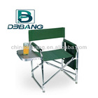Folding Aluminium Director Chair With Side Table And Cell Phone Holder DB1022A