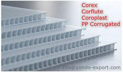2-9mm Correx Sheet Board Standard 8' x 4' (2.4m x 1.2m)