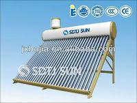2013 hot sell copper coil solar geyser solar power geyser