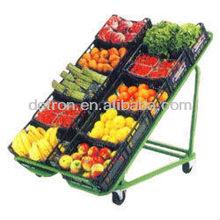 Vegetables free standing display unit