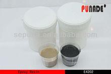 Good Adhesion White / Black Epoxy Potting Sealant to Lamp and Al Casting