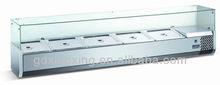 Refrigerated topping display,countertop salad/pizza display_VRX395