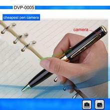 Pen camera 720*480/1280*960, Hidden camera pen, silver/golden pen DVR
