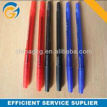 2013 Simple Plastic Blue Cheap Plastic Ball Point Pens