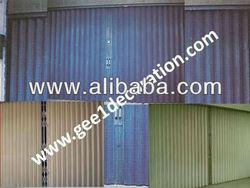 pintu folding gate besi