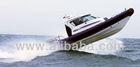 Aluminum Cabin RIB boat