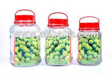 glass bottle jar