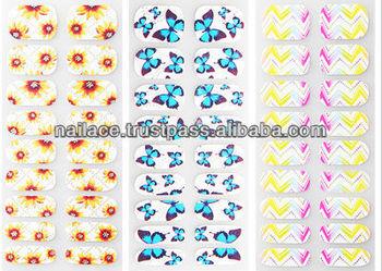Nail sticker_ Nail polish sticker (Nail patch sticker)