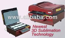 Digital 3D vacuum sublimation heat transfer press machine