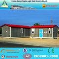modelo de casa de vacaciones con cabinas