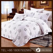100% cotton luxury hotel 4pcs bedding set hotel bed sheet