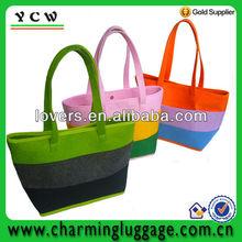 large light weight felt tote bags/felt shopping bag