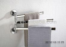 Hot selling 180 degrees rotating towel rack with 3 bars towel rack W3