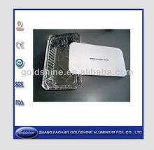 Goldshine al foil trays(FDA,TUV,SGS Certificate)