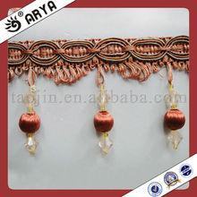 Fabric Curtain Decorative Fringe , Curtain Trimming ,Curtain Accessories Tassels Fringe Suede