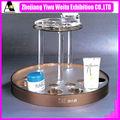 mesa de acrílico cosmética display stand