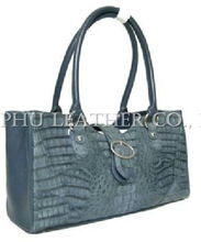 Lady Handbag, Fashion Handbag, Crocodile Leather