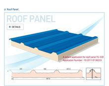 PUR/PIR Roof Sandwich Panel