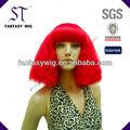 China guang zhou st curto afro peruca de cabelo vermelho( gf- w1376 #c13)