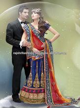 Dazzling Designer kundan work Sarees