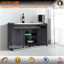 Wooden black sideboard buffet