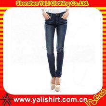 Most popular small leg skinny cool classic blue women jeans
