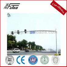 city without traffic light pole