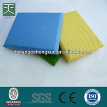 High Absorption And Soundproof prefabricated wall panels For Hotel And Gymnasium