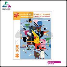 KIB-G1024 Art Game Charley Harper - Wings of the World 300 Pcs