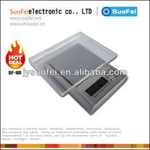 Digital única joyería de bolsillo escala de gramo sf-600 con gran pantalla lcd