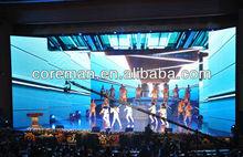 Indoor led video wall p3 / p4 3d effect led rental display / led 3mm led display rental outdoor
