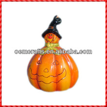 New-coming ceramic artificial pumpkins wholesale for halloween