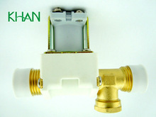 3 way electric solenoid valve FPD-270A01, 220VAC Solar electromagnetic valve used in the solar water system controller
